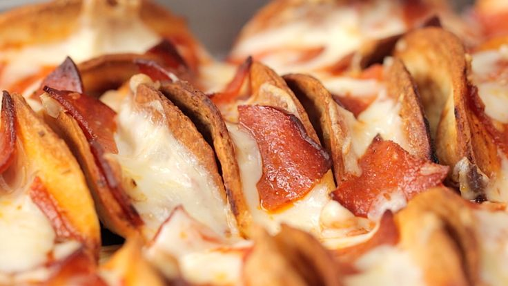 Mini Pizza Taco's - Twisted Using low-carb tortillas or Joseph's Pita's - endless possibilities!