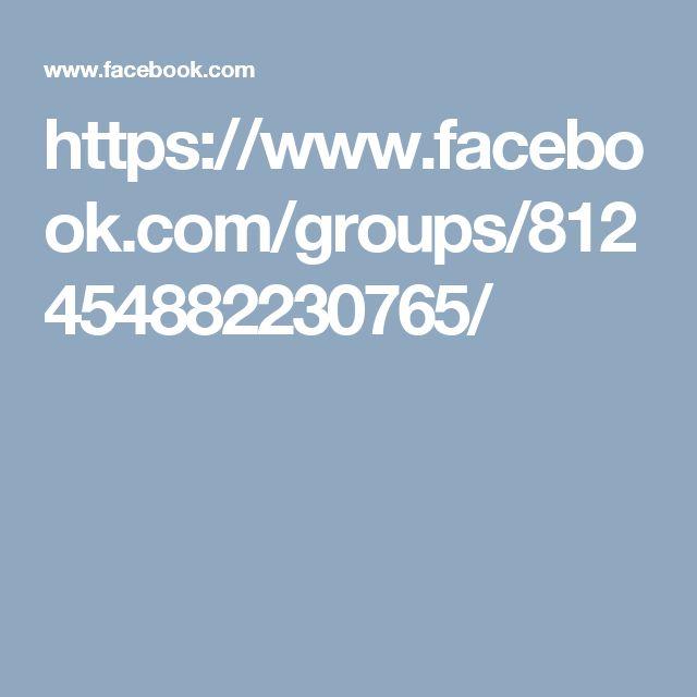 https://www.facebook.com/groups/812454882230765/