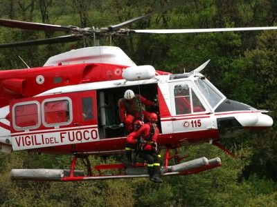Turista cade in una gola dei Monti Sibillini, salvato dai Vigili del Fuoco