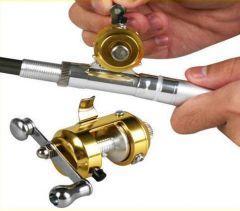 Son derece küçük ve pratik! Artık siz de balık tutmak için her an hazır kamış, makara ve mini olta sistemi Fish Pen Kalem Olta ile bu keyfi yaşayabileceksiniz.