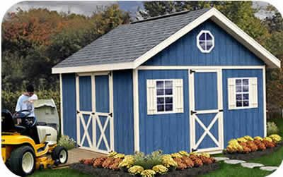 Fairview 12x16 EZup Wood Shed Kit tove this for my storage in back yard!