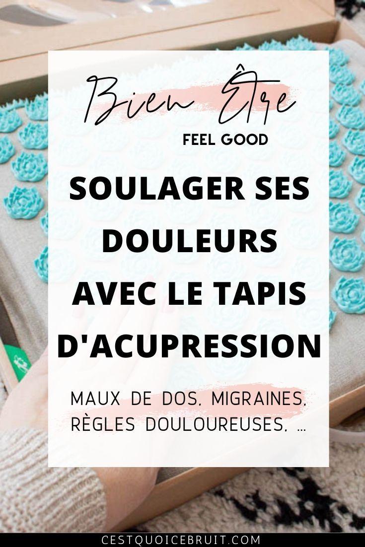 Tapis D Acupression Pour Soulager Le Mal De Dos Magique En 2020 Acupression Tapis Acupression Soulager Mal De Dos