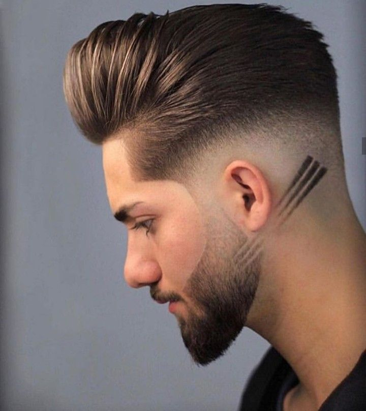 Desvanecido Peinado Cabello Corto Hombre Estilos De Cabello Y Barba Estilos De Cabello Hombre