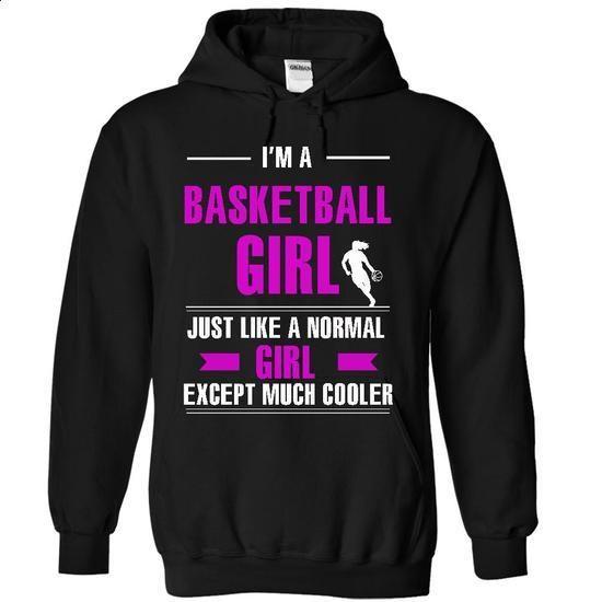 Cool basketball girl - custom t shirt #tee #style