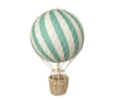 Blå luftballong, 20 cm - Filibabba
