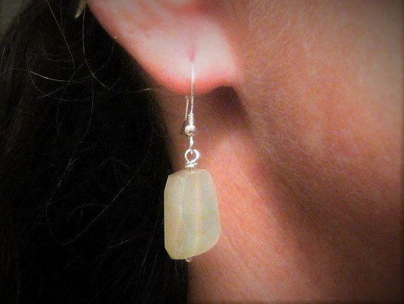 Faceted Moonstone Nugget Gemstones & by JewelryDesignsByKara