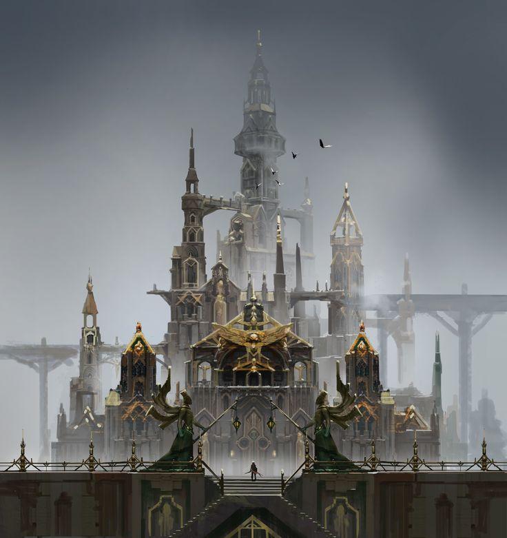 ArtStation - Project Reign - Castle , Bill Zhang