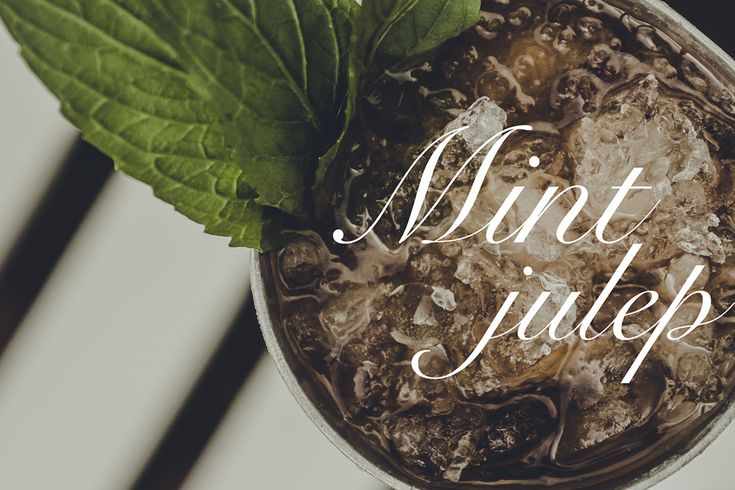Mint Julep with Australian Whiskey