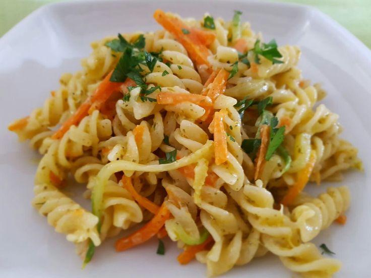 Fusilli carote e zucchine