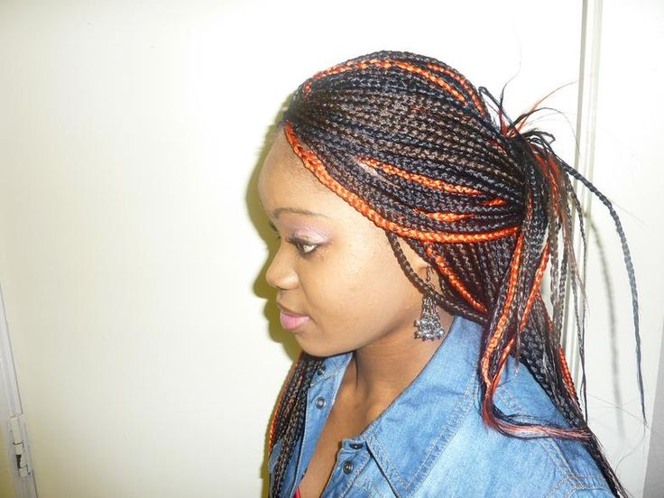 Braids And Color Everywhere!!!!!