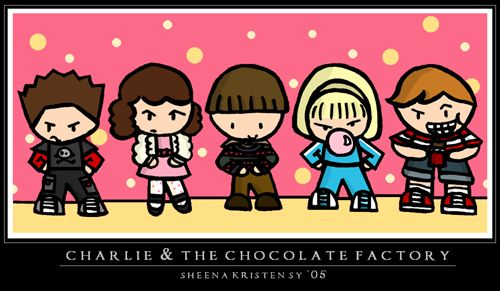 Charlie and the Choco Factory by ~cippow25 on deviantART