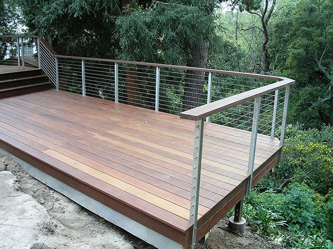 63 best images about exterior on pinterest stamped for Concrete patio railing