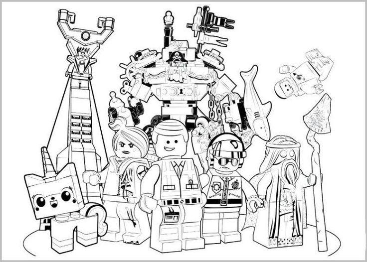 die 20 besten ideen für lego movie ausmalbilder  beste