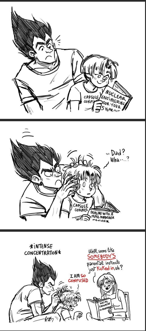 Vegeta moments pinterest dragon ball dbz and dragons - Goku e bulma a letto ...