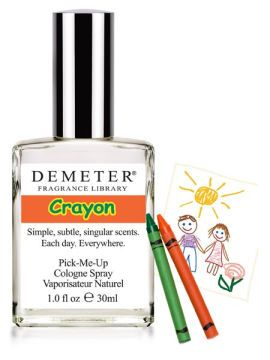 I really, really, REALLY want to smell like a crayon. Or beeswax.