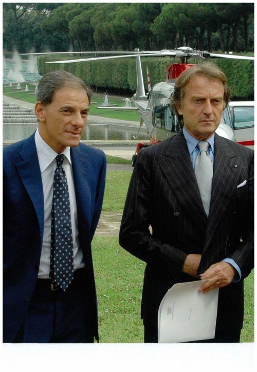 italianindustrialist: Gianni Lettieri and Luca di Montezemolo