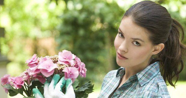 Aby vaše zahrada rozkvétala, pomohou naše babské rady.