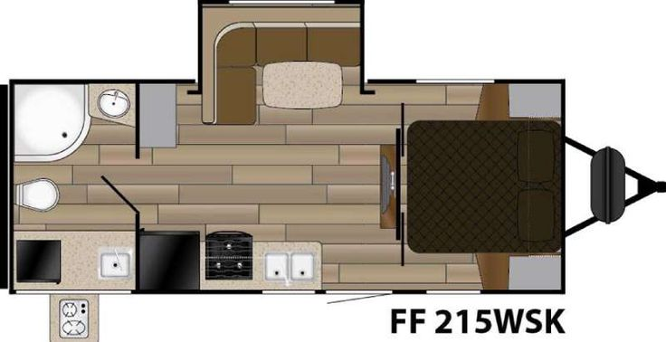 New 2016 Cruiser Fun Finder XTREME LITE F-215WSK Travel Trailer at Collier RV | Rockford, IL | #034589
