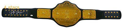 Hulk Hogan Signed Replica WWE World Heavyweight Championship Belt JSA
