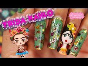 Finding Dory Nails | Mint Mani 2016 Nail Art Design Tutorial - YouTube