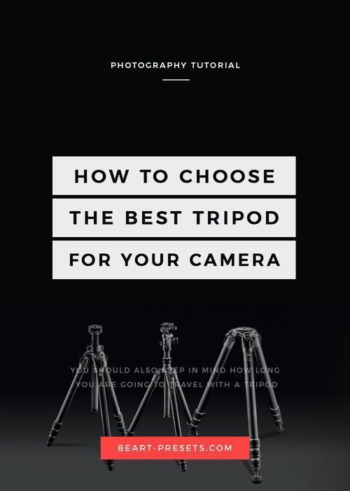 How to Choose The Best Tripod for a DSLR Camera #CameraAccessories #DSLRcameras