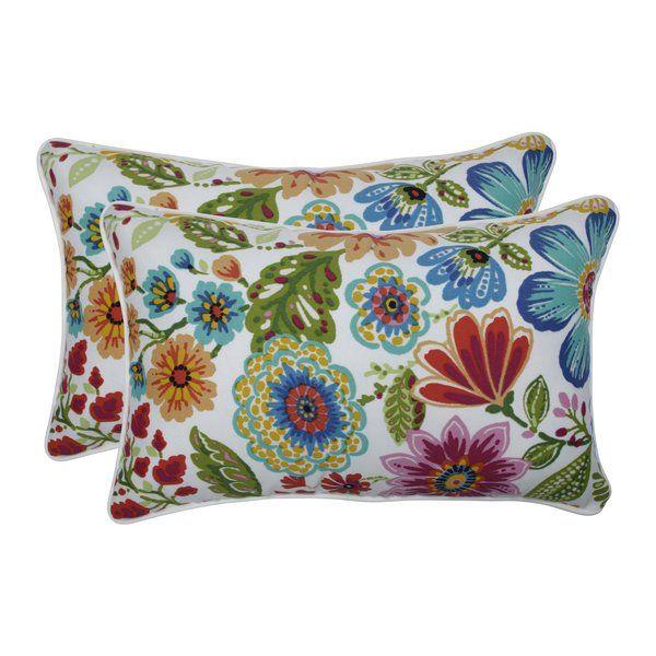 Chamberlin Indoor Outdoor Lumbar Pillow Perfect Pillow Patterned Throw Pillows Throw Pillows