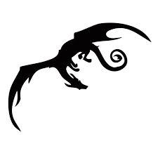 Bildergebnis für drachen silhouette