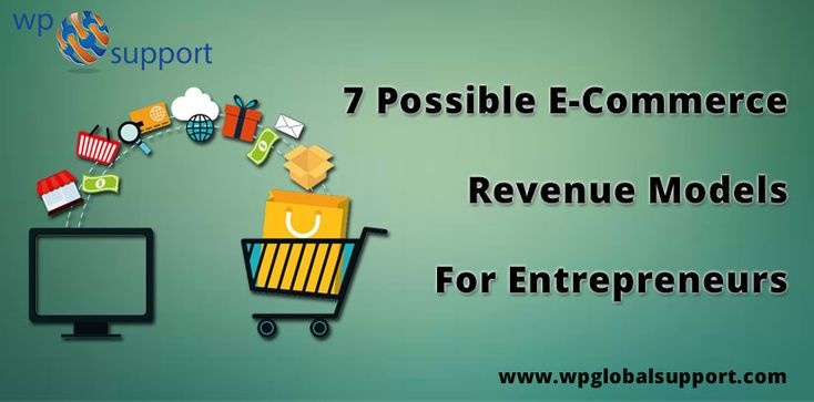 https://www.wpglobalsupport.com/e-commerce-revenue-models-for-entrepreneurs/  In this post, we provide information related to 7 Possible E-Commerce Revenue Models For Entrepreneurs. We know that E-commerce refers to the world of entrepreneurs. So, that's way It is mandatory to listen to new e-commerce enterprises that come every day. Tags:-  E-Commerce, Entrepreneurs, Revenue Models