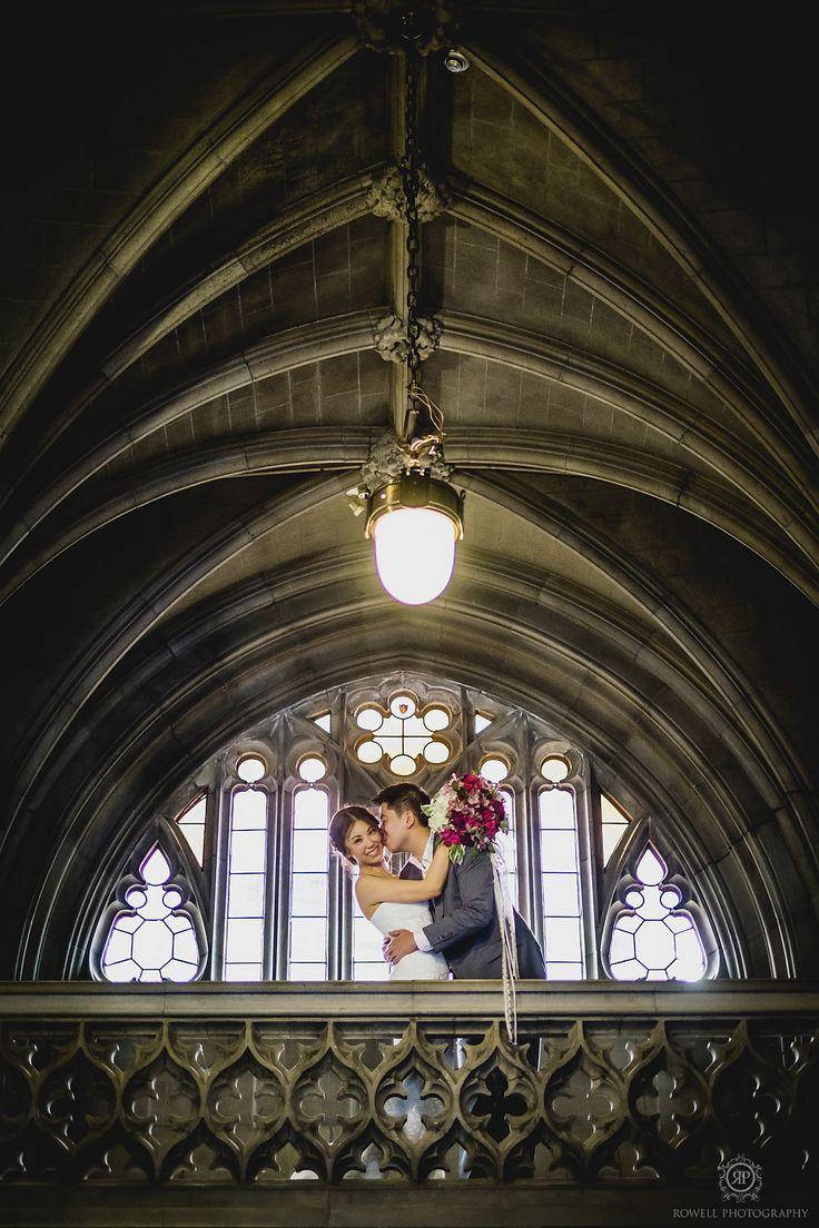Pre-Wedding Engagement Session Knox College Toronto Canada