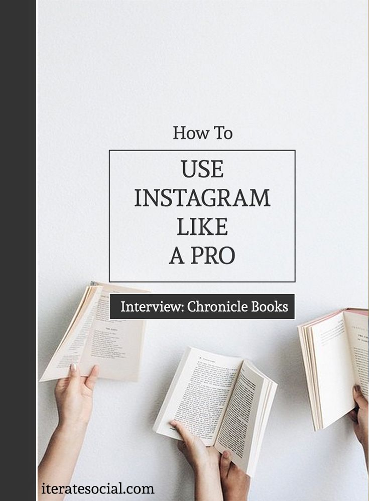 How To Use Instagram Like a Pro: An Interview With Chronicle Books' Instagrammer Wizard