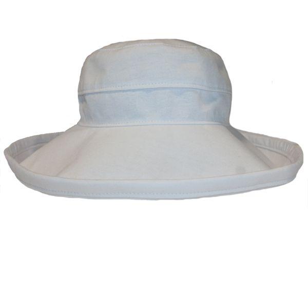 The Noosa Hat - White Cotton | Topshow