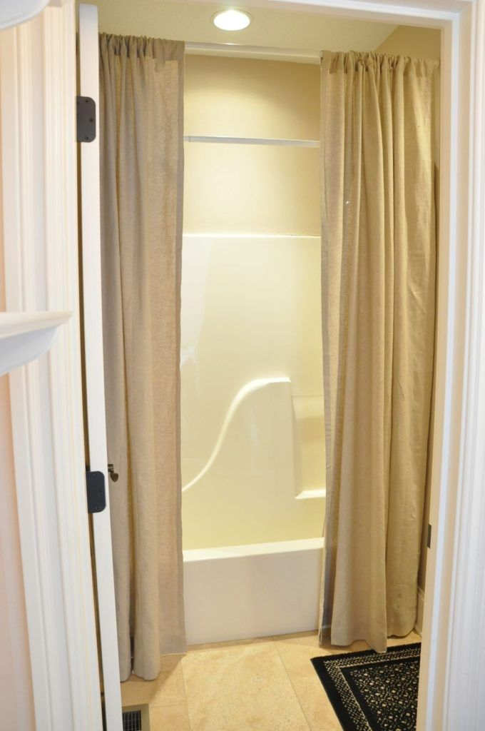 25 Best Ideas About Tall Shower Curtains On Pinterest Black Bathroom Paint Extra Long Shower