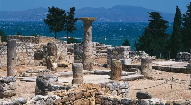 Ruines grecques d'Ampurias, Catalogne.