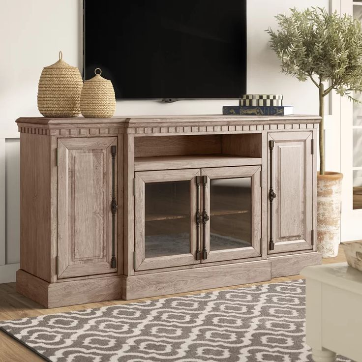 Greyleigh Petrolia TV Stand for TVs up to 78 inches