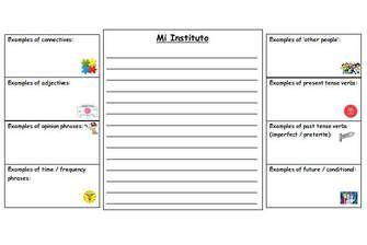 MORGANMFL: GCSE Writing Preparation #spanish #mfl #languages #teach #teacher #uk #gcse #aqa http://morganmfl.weebly.com/mfl-ideas/gcse-writing-preparation