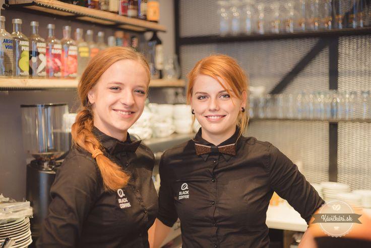 Banská Bystrica kaviareň, waitress, coffee