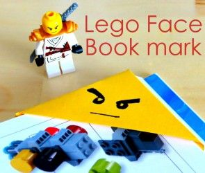 Lego Book Mark for books - Instructions and Printable Pattern