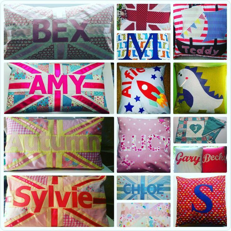 Cushions I have made www.facebook.com/therosegardenuk