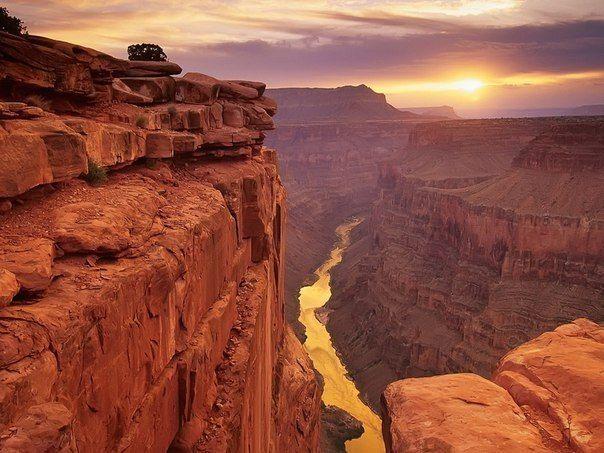 Гранд-Каньон, штат Аризона, США.