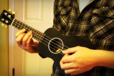 Left handed ukulele