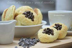Delicata fragranza di latte di riso e deliziosa croccantezza di cioccolato!Scoprite i golosissimi Biscotti latte di riso e gocce di cioccolato senza glutine