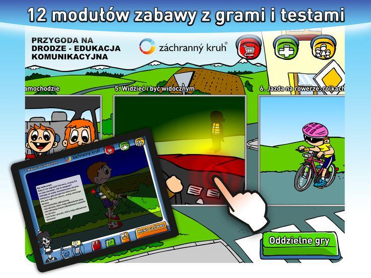12 modułów zabawy z grami i testami