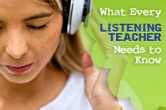 Module 4: Teaching Listening Authentic Listening: What ESL Materials Lack and How to Get It