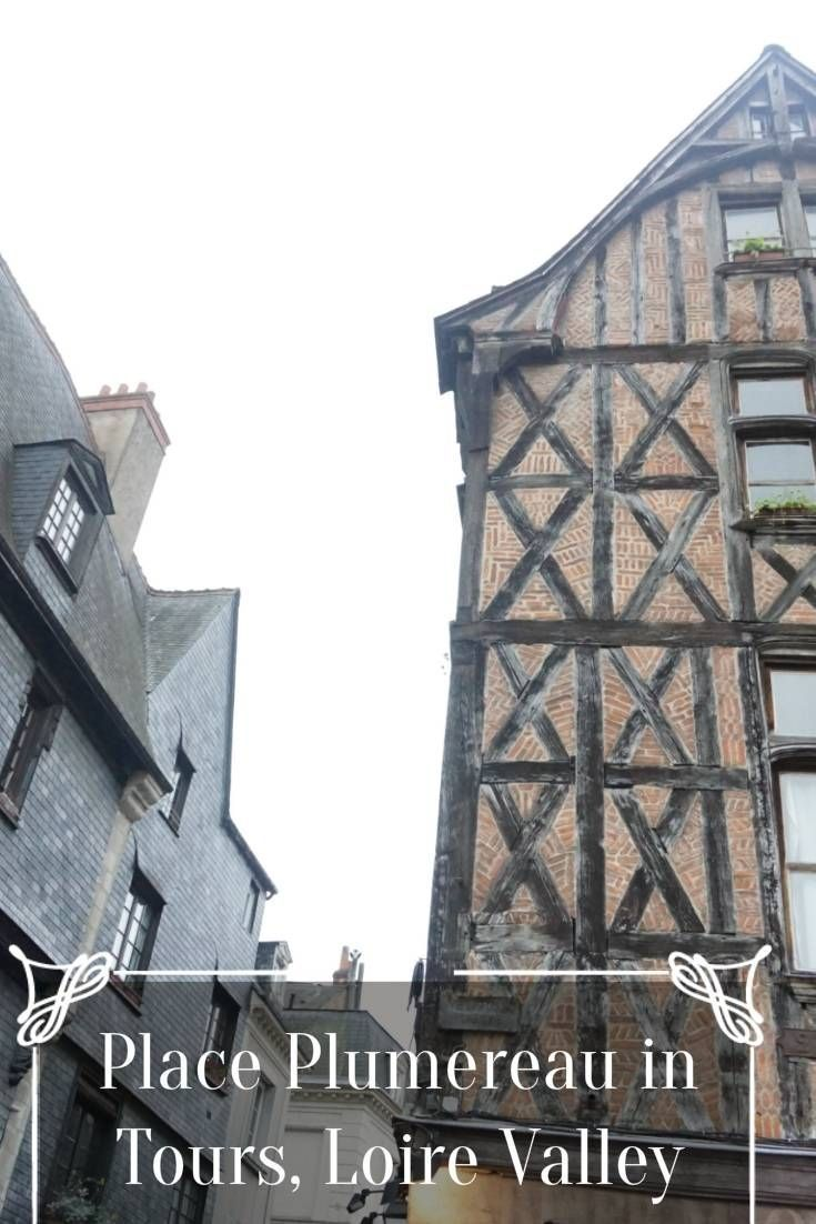 Place Plumereau in Tours, Loire Valley