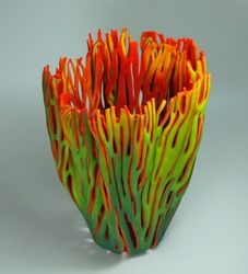 Kiln Formed Glass Vessels by Austin Artist Glenda Kronke