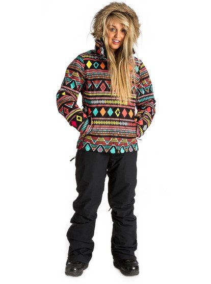 Create your own snowboard outfit: Mix 'n match - Roxy