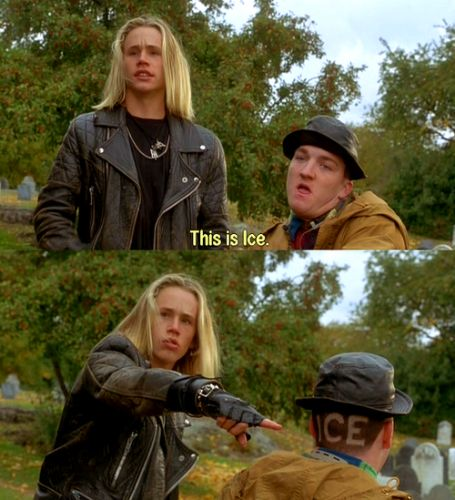 """When Max told Ice """"maybe you should learn to breathe through your nose."""" 