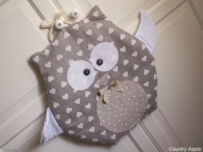 Cute owl - inspiration only - love the colour combo :)