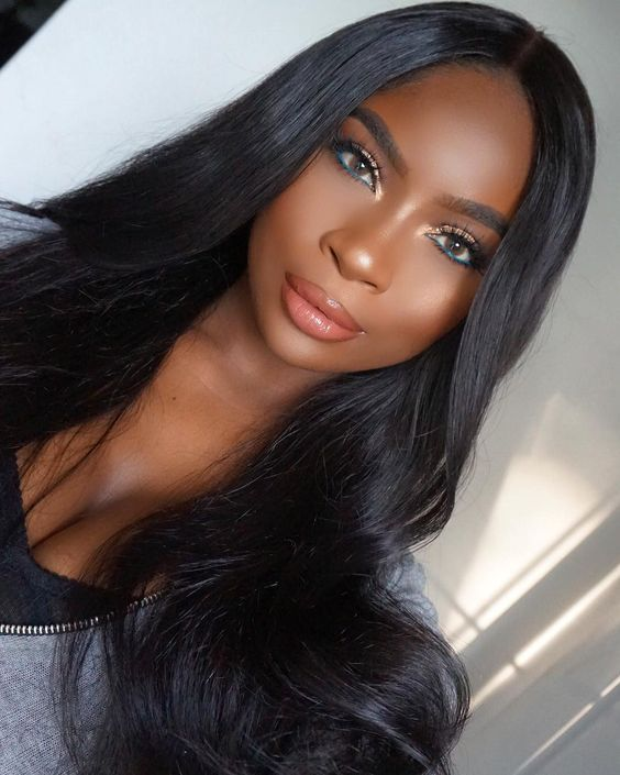 Make pela negra/morena | Long hair styles, Stylish hair, Hair styles