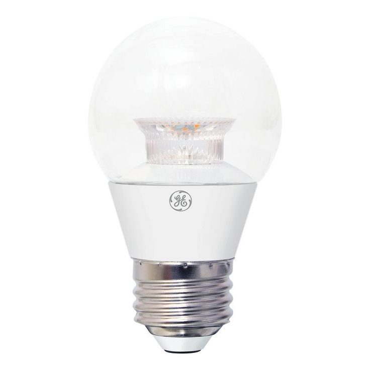 GE 40W Equivalent Soft White A15 Dimmable LED Light Bulb (2-Pack)